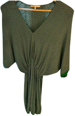 Maje Green Wool Dresses
