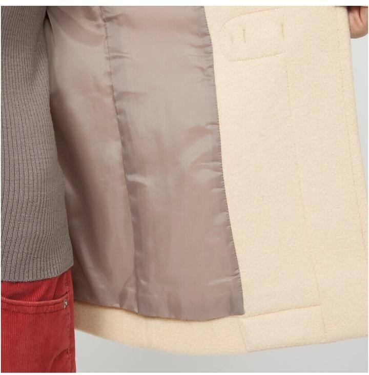 Uniqlo Women Wool Blended Short Duffel Coat