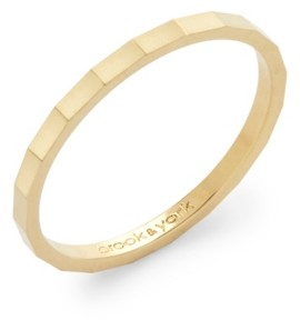 brook & york Lucy Extra Thin Ring