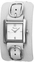 Freelook Women's HA1573-9 Square Leather Band Watch