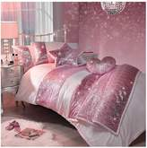 Kylie Minogue Sequin Scatter Pink Single Duvet Cover Set