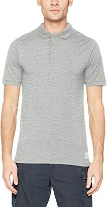 ONLY & SONS Men's Onsbora Ss Polo Tee T-Shirt, Light Grey Melange, Small