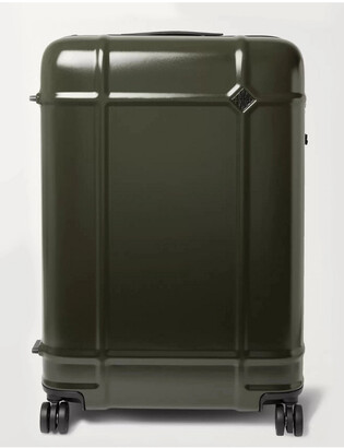 FPM Milano Globe Spinner 76cm Polycarbonate Suitcase - Men - Green