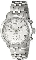 Tissot Men's T0554171101700 Analog Display Swiss Quartz Silver Watch