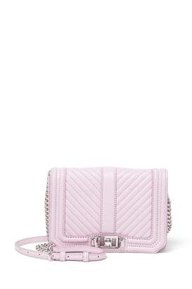 Rebecca Minkoff Love Small Leather Crossbody Bag