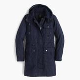 J.Crew Petite long downtown field jacket