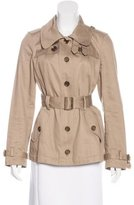 Burberry Belted Long Sleeve Coat