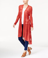Style&Co. Style & Co High-Low Duster Cardigan, Only at Macy's