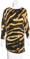 Kelly Wearstler Abstract Print Ruched Tunic w/ Tags