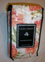 Laura Ashley Cadence Coral Standard Pillow Sham