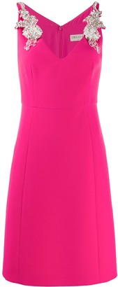 Emilio Pucci Embellished Shoulder Dress