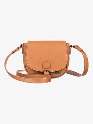 Roxy Vegan Brownie Small Faux Leather Shoulder Bag