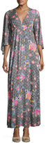 Rachel Pally Brayan Floral-Print Long Dress