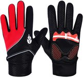 SUN SPORTING SUN Winter Fleece Thermal Windproof Gloves Cycling Skiing Waterproof Full Gloves L