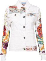 Desigual Jacket Exotic White