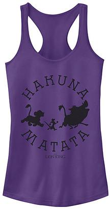 Fifth Sun Women's Tank Tops PURPLE - Purple 'Hakuna Matata' Tank - Women & Juniors