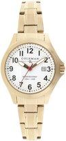Coleman Women's COL7115 Dress Gold Band Watch