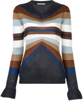 Marco De Vincenzo knitted V-neck sweater - women - Polyamide/Polyester/Acetate - 44