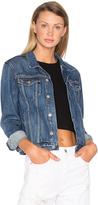 GRLFRND Bianca Denim Trucker Jacket