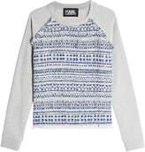 Karl Lagerfeld Woven Cotton Sweatshirt