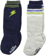Robeez Baby-Boys Newborn Boy Power 2 Pack Boot Socks