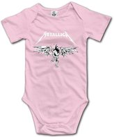 High View Cotton Babysuit Baby Bodysuit Metallica (3 Colors) 6 M