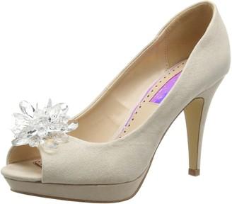 Miss KG Women's Gazelle Open-Toe Heels