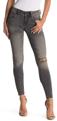 G Star Lynn Mid Distressed Skinny Jeans