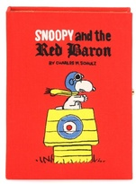 Olympia Le-Tan Snoopy And The Red Baron Book Clutch