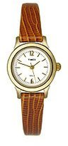 Timex Women's T2H621 Classic Brown Leather Strap Watch
