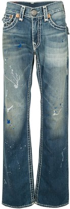 True Religion Stonewash Effect Jeans