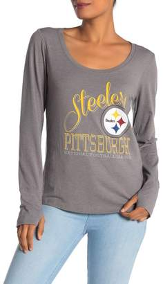 '47 Pittsburgh Steelers Long Sleeve Graphic T-shirt