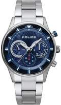 Police Driver Men's Stainless Steel Bracelet Watch