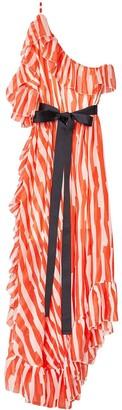 S I O B H A N M O L L O Y One Shoulder Abstract Print Shonky Dress