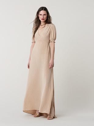 Diane von Furstenberg Avianna Silk Crepe de Chine Gown