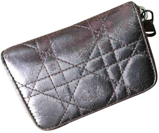 Christian Dior Metallic Leather Purses, wallets & cases