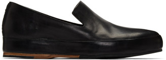Feit Black Hand-Sewn Leather Loafers