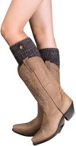 Bessky®-1090 Leg Warmers Socks,Bessky® New Fashion [HOT SELL] Women Girls Knitted Flanging Mixed Color Ribbon & Buttons Leg Warmers Socks Boot Cover