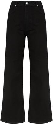 Eckhaus Latta Wide-Leg Jeans