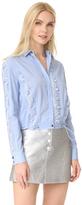 Versace Lace Inserts Shirt