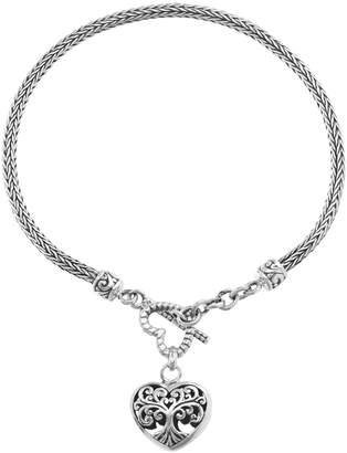 Bliss Women's Bracelets Silver - Sterling Silver Tree of Life Charm Bracelet