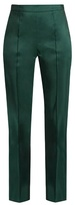 Rosie Assoulin Oboe silk-faille slim-fit trousers