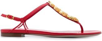 Valentino Serpent T-bar sandals