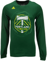adidas Men's Long-Sleeve Portland Timbers Prime Time T-Shirt