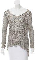 Helmut Lang Open Knit Long Sleeve Sweater