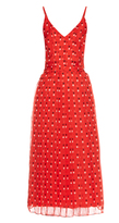 Christopher Kane Love heart-print silk-chiffon dress