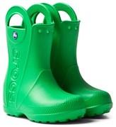 Crocs Grass Green Handle It Rain Boots