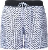 Venroy - 'Core Range' printed swim shorts - men - Polyester - S