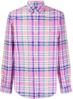 Polo Ralph Lauren Plaid Printed Shirt