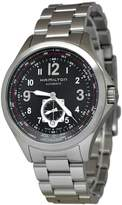 Hamilton Men's Steel Bracelet & Case Automatic Dial Analog Watch H76655133